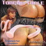 Tonguetacle Fest Compilation – Abigail Dupree – HD-720p, long dildo, pussy insertion, anal (Release May 23, 2017)