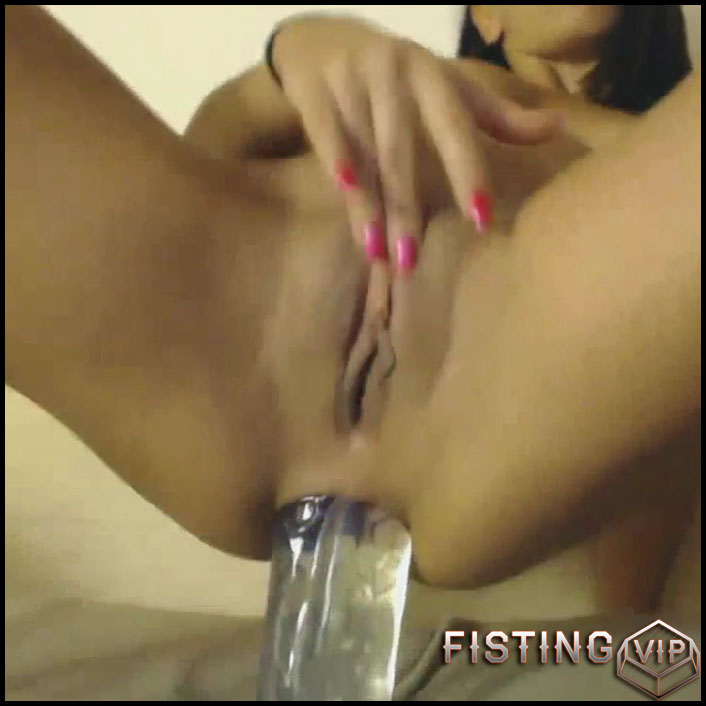 Beautiful busty girl anal rosebutt loose after dildo fuck - HD-720p,  rosebutt,