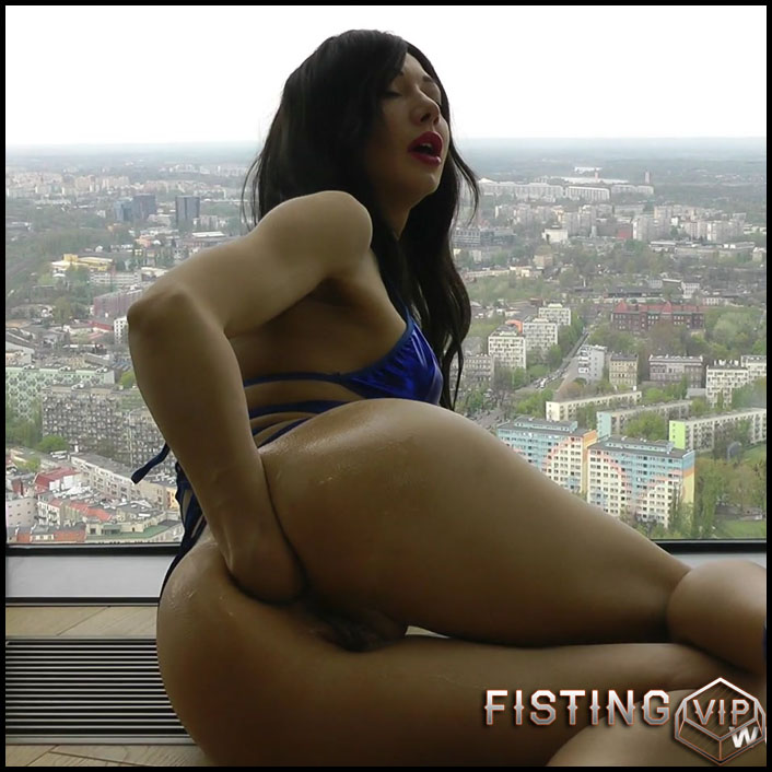 Hotkinkyjo – Self fisting in Hightower - Full HD-1080p, anal prolapse, gape ass, prolapse ass, solo fisting (Release June 16, 2017)1