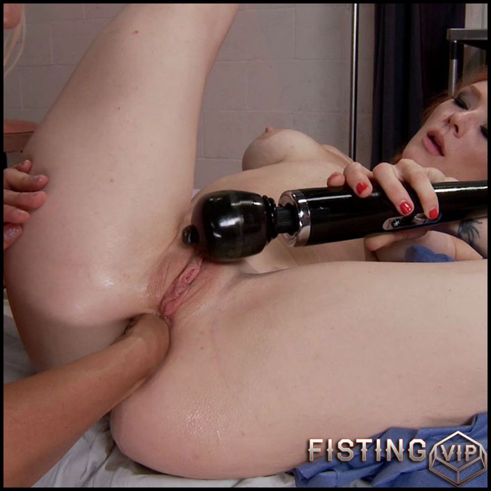 Taste the Gape! Both girls open up and get a taste of the dark side - HD-720p, dildo anal, hardcore fisting, lesbian fisting (Release June 13, 2017)