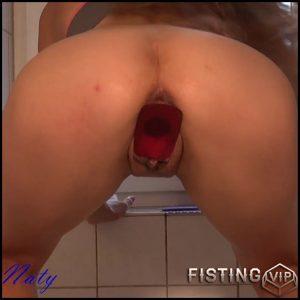 UNGLAUBLICH! Und keiner merkts oder doch – Sexy Naty – Full HD-1080p, big pussy fisting, toys (Release June 21, 2017)