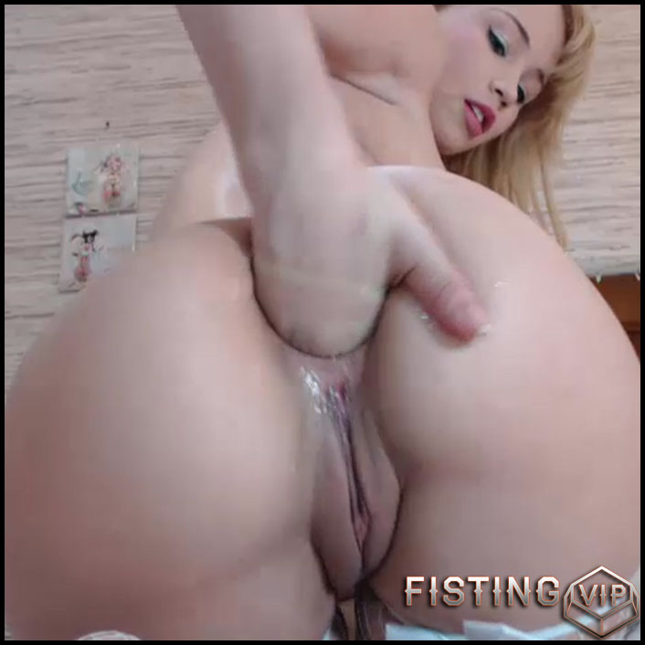 Teen fisting webcam remarkable