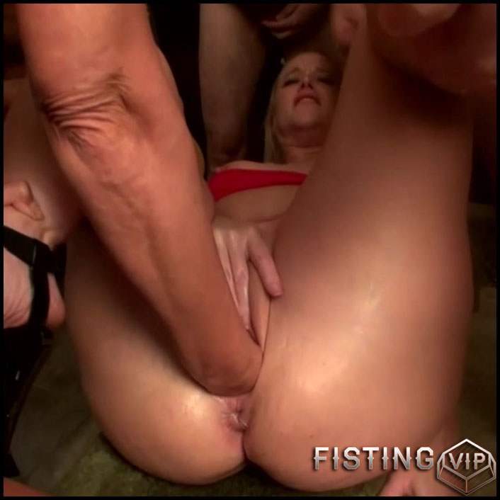 Extreme gang bang fisting - Full HD-1080p, extreme fisting, lesbian pussy fisting (Release July 8, 2017)