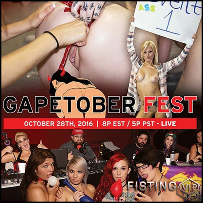Gapetoberfest - anal fisting, extreme fisting, hardcore fisting (Release July 9, 2017)