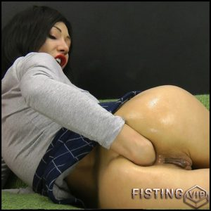 Hotkinkyjo – Black socks self anal fisting  – Full HD-1080p, prolapse ass, solo fisting, anal prolapse (Release July 29, 2017)