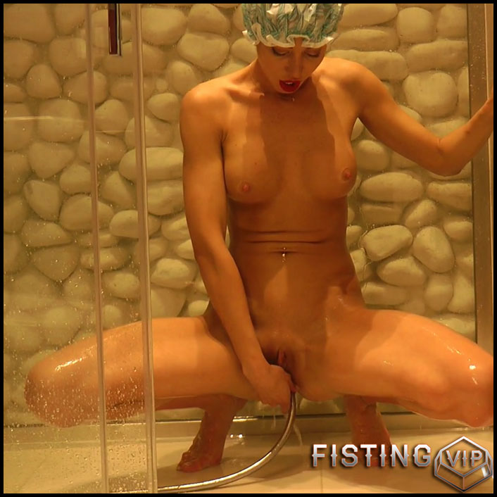 Hotkinkyjo - Shower enema fun - Full HD-1080p, extreme pussy fisting, fisting porn (Release July 20, 2017) (2)