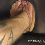 NYLON PUSSY FISTING with MACHINE-BITCH – Full HD-1080p, big pussy fisting, extreme pussy fisting (Release July 4, 2017)