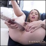 Angel Smalls long dildo penetration in anal gape and rough DAP – HD-720p, double fisting, big pussy fisting, extreme pussy fisting (Release August 27, 2017)