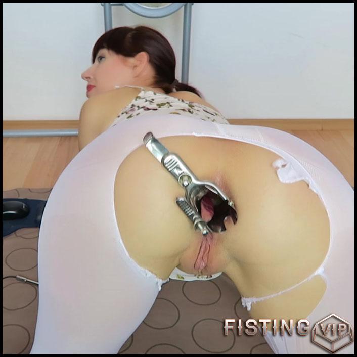 Endoscope test. Cervix, rectum hot views - Mylene - Full HD-1080p, solo fisting (Release August 19, 2017)