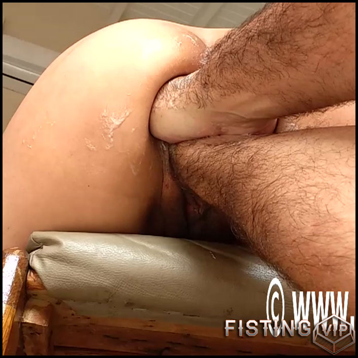 Double fisting Marias holes - HD-720p, bottle, hardcore fisting, extreme fisting (Release September 24, 2017)1