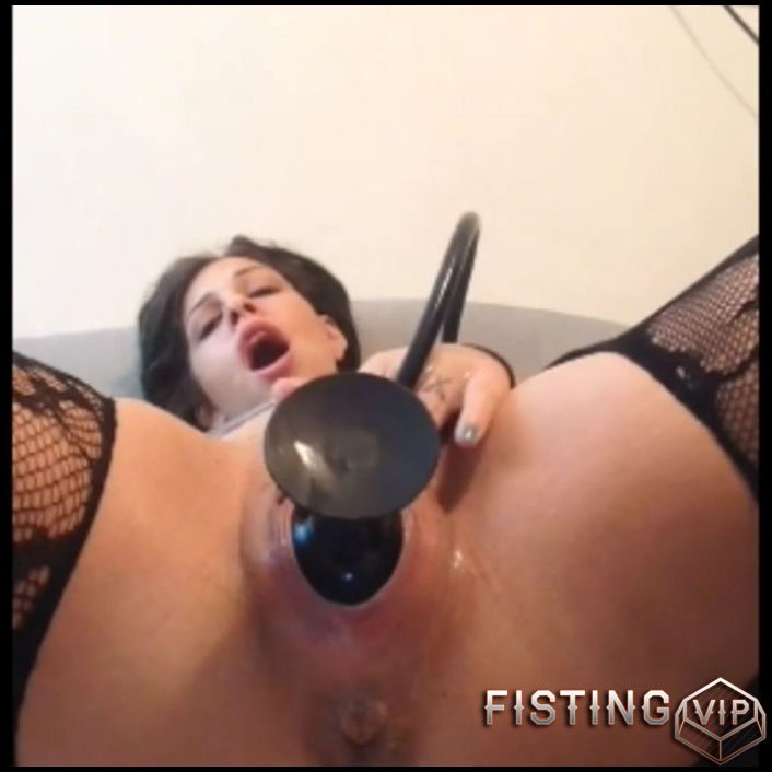 XXL dildo fucking orgasms - Full HD-1080p, solo fisting, webcam, long dildo, monster dildo (Release September 14, 2017)