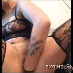 XXL dildo fucking orgasms – Full HD-1080p, solo fisting, webcam, long dildo, monster dildo (Release September 16, 2017)