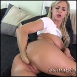 Amateur big ass girl self pussy fisting in different poses – HD-720p, solo fisting, pussy fisting (Release October 24, 2017)