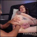 Anna De Ville and Francesca Le lesbians anal fisting and monster strapon domination – HD-720p, deep fisting, hardcore fisting, lesbian fisting (Release October 14, 2017)