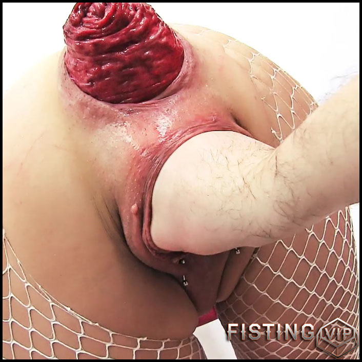 Deep Pussy and Anal Fisting - Huge Prolapse - Argentina Naked - Full HD-1080p, extreme fisting, hardcore fisting (Release October 26, 2017)