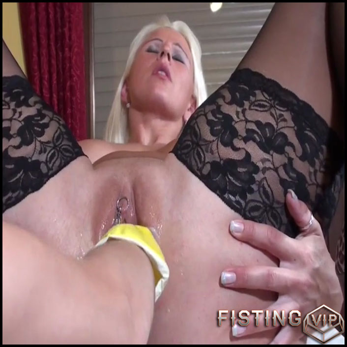 Housekeeper fisted big pussy her mistress homemade - HD-720p, lesbian fisting, lezdom, lezdom fisting, pussy fisting (Release October 22, 2017)