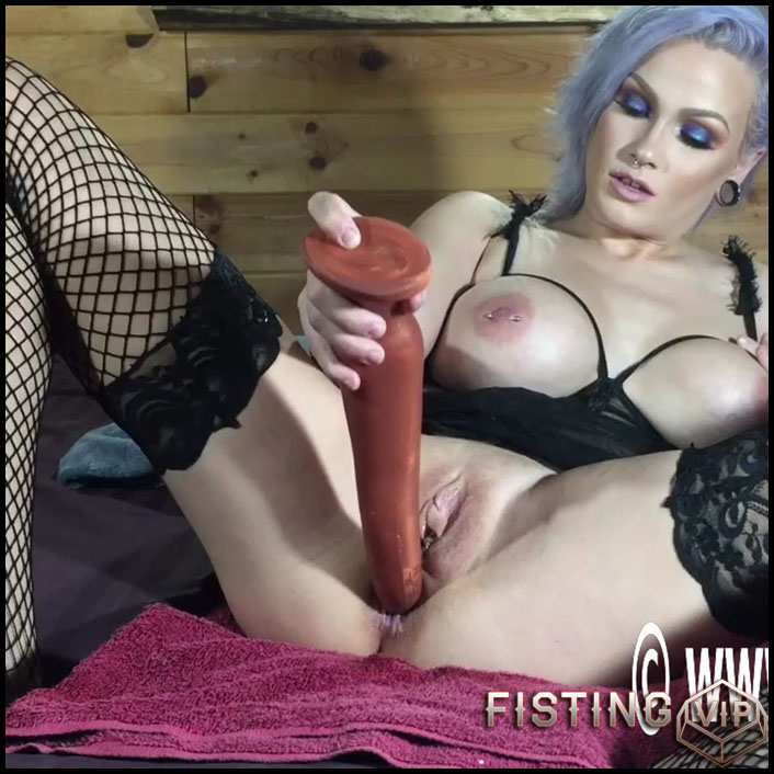 Lilys deep anal insertions - HD-720p, hardcore fisting, long dildo, monster dildo (Release October 8, 2017)