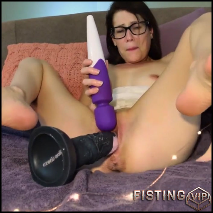 Girl Big Ass Dildo Ride
