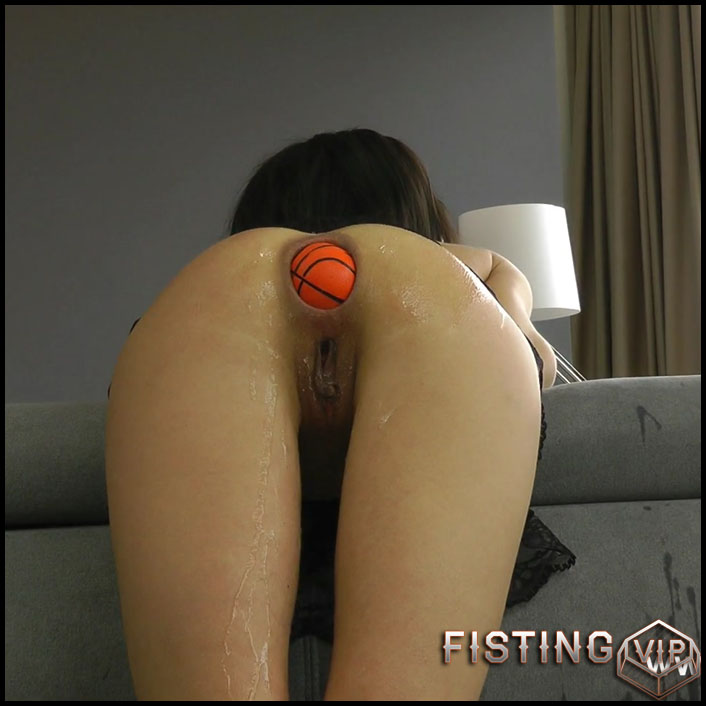 Hotkinkyjo - Halloween anal ball fun - Full HD-1080p, solo fisting, Anal Toy (Release November 20, 2017)