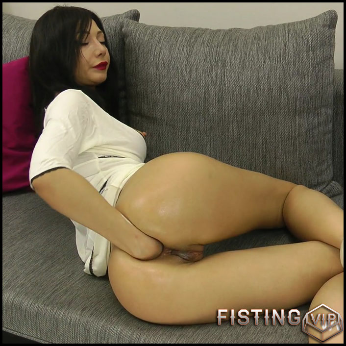 Hotkinkyjo fist punch fun play - Full HD-1080p, solo fisting, anal fisting, prolapse (Release November 27, 2017)
