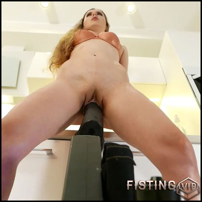 SexyNaty - Krass ANAL Maschinenfick - Full HD-1080p, Sex Machine, (Release December 1, 2017)