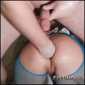 Amateur cute russian booty wife gets fisted in doggy pose – HD-720p, amateur fisting, anal, anal fisting (Release December 10, 2017)