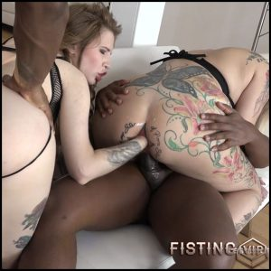 Candela X and Jaclyn Jordan extremely anal fisting porn – HD-720p, lesbian fisting, double penetration, anal fisting (Release December 26, 2017)