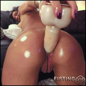CrazyBella 1 hour Extreme Anal Play 9 inch anal toy – sexy webcam girl – Full HD-1080p, dildo anal, huge dildo, long dildo (Release December 13, 2017)