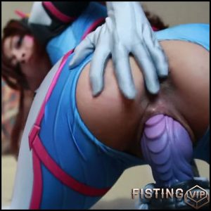 D.va vs. Bad Dragon – Suck, Fucked and Creampied by Apollo the Chimera – HD-720p, dragon dildo, huge dildo, monster dildo (Release December 19, 2017)