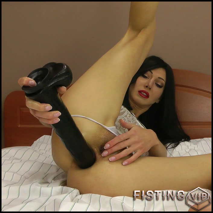 Hotkinkyjo BBC dildo fully anal - Full HD-1080p, solo fisting, dildo anal, fisting herself (Release December 20, 2017)1