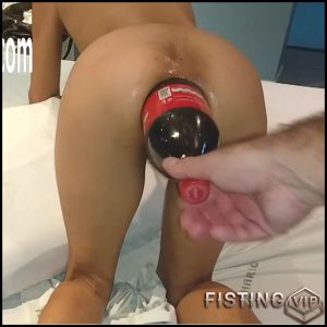 Marias anal cola bottle fuck – HD-720p, monster dildo, Anal Toy, bottle (Release December 7, 2017)