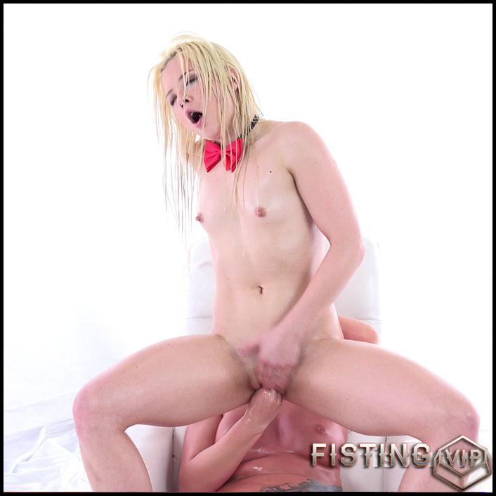 FisterTwister Anna Ray and Lucia Denvile stretching pussy lesbians - UltraHD 4K, lesbian fisting, pussy fisting (Release January 21, 2017)