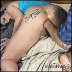 LilySkye taking on the XL dragon tongue in my ass – HD-720p, pussy fisting, dragon dildo, colossal dildo (Release January 19, 2017)