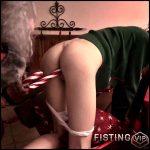 Bad Santa forced sex and baseball bat fuck in anal gape – Fantasy Rape – Full HD-1080p, anal, anal insertion, baseball bat (Release February 3, 2017)
