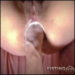 Butplug and fist deeply penetration in stretched gaping ass – Full HD-1080p, anal fisting, dildo anal, huge dildo (Release February 20, 2017)