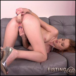 Linda Sweet double dildo penetration in anal gape – HD-720p, dildo anal, double dildo, double penetration (Release February 25, 2018)