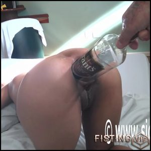 Big ass wife gets fist and big whisky bottle in ruined anal gape – HD-720p, anal fisting, bottle anal (Release March 12, 2018)