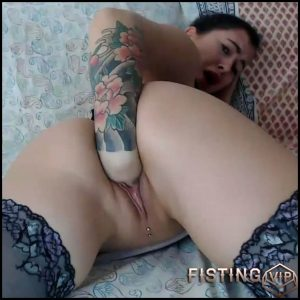 Aline Lee pussy and anal fisting – Full HD-1080p, anal fisting, pussy fisting (Release April 2, 2018)