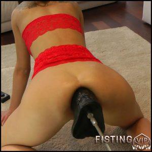 HotKinkyJo fucking machine porn to prolapse – Full HD-1080p, colossal dildo, fucking machine porn (Release April 5, 2018)