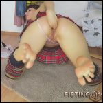 Mylene custom footjob and anal masturbation herself – Full HD-1080p, anal fisting, solo fisting (Release April 29, 2018)