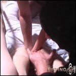Unique amateur double pussy fisting sex – HD-720p, amateur fisting, deep fisting, double fisting (Release April 24, 2018)