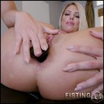 Adriana Chechik solo fisting and butplug penetration in gape – HD-720p, anal fisting, long dildo, solo fisting (Release May 17, 2018)