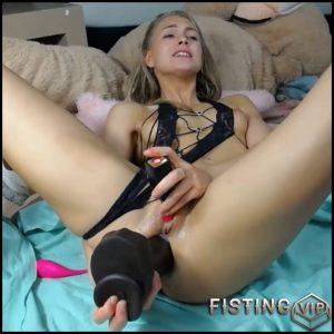Siswet19 little anal rosebutt loose with BBC dildo – HD-720p, BBC dildo, huge dildo (Release May 2, 2018)