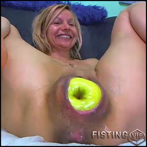 Anal prolapse ruined kinky milf after rough double fisting RaisaWetsX – mature fisting, pussy fisting, solo fisting (Release June 27, 2018)