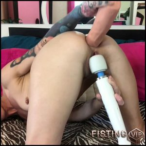 Badlittlegrrl huge dildo penetration in asshole and enema porn in bathroom – Full HD-1080p, BBC dildo, huge dildo (Release June 8, 2018)