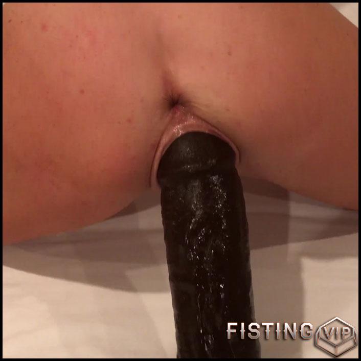 Busty mature Alexa Pearl monster black dildo penetrated – 4K porn, BBC dildo, huge dildo (Release June 8, 2018)
