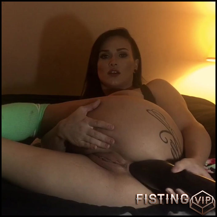 LilySkye giant balls and dildos in asshole herself homemade porn - HD-720p, ball anal, dildo anal, huge dildo (Release June 9, 2018)