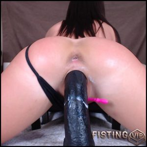 Sexy booty brunette penetration BBC dildo in wet cunt – Full HD-1080p, BBC dildo, huge dildo (Release June 5, 2018)
