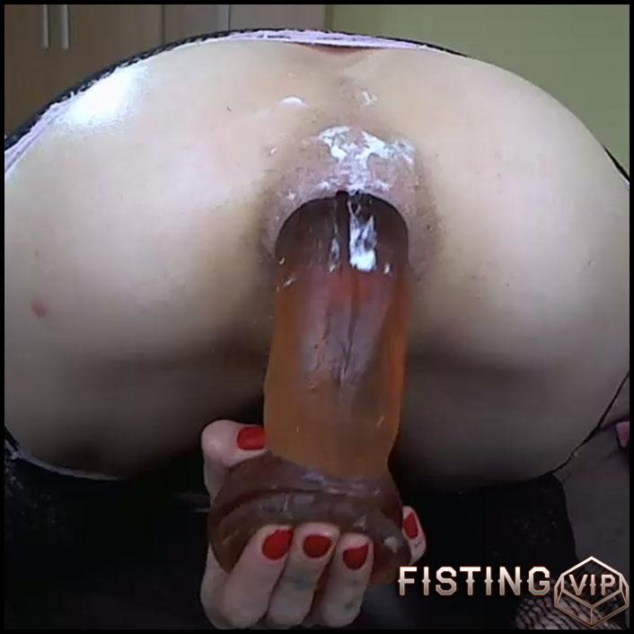 Webcam abuse girl angelsdaniel very close-up penetrate dildo in sweet ass - dildo anal, huge dildo (Release June 29, 2018)