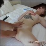 Amateur tattooed skinny girl gets fisted in different poses exciting – HD-720p,  amateur fisting, couple fisting, pussy fisting (Release August 1, 2018)